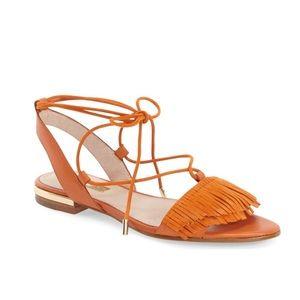 LOUISE ET CIE Cyan' Fringe Sandal Size 5.5